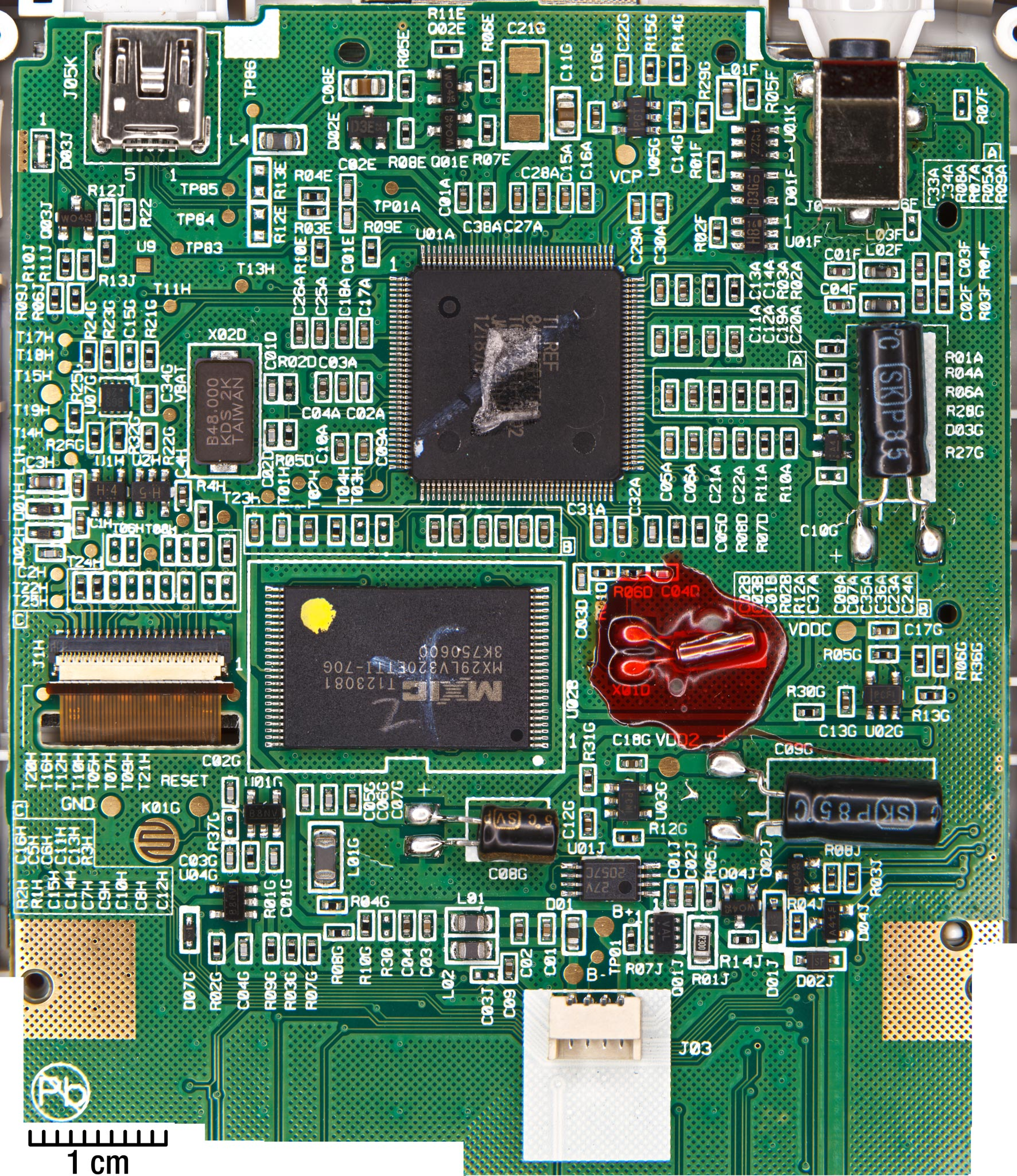 File:TI-84 Plus C SE PCB (main circuits) jpeg - WikiTI